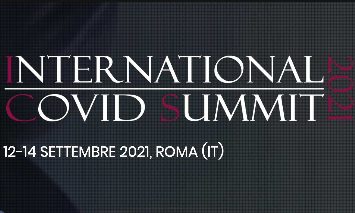 Roma, 12-14 settembre – International Covid Summit 2021